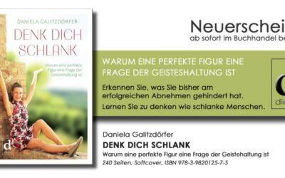 Denk Dich Schlank: Taschenbuch jetzt erhältlich!